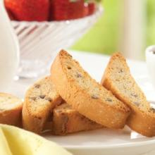 Chocolate Chip Fat Free Biscotti - 338 (Just $9.67/Bag) (DHSW) Made by Healthwise