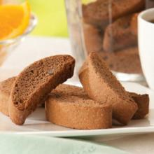 Chocolate FUDGE Chip Fat Free Biscotti - 337 (Just $9.67/Bag) (DHSW) Made by Healthwise
