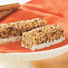 Cinnamon Raisin Crispy Protein Bar - 266 ORDER 24 BOXES OF Crispy BARS and GET 25% OFF (DHSW) Made by Healthwise