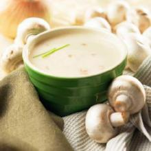 Cream of Mushroom High Protein Hot Soup Mix - Less than $10/box - 172 - (DHSW) Made by Healthwise