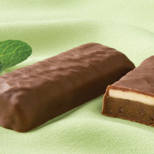 Chocolate Mint Bar $10.62/box Healthwise 15 gm Protein 254 25% OFF Layered BARS (24 Boxes/caze 7 bars/box) Low Cost Discount