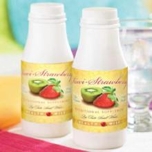 Strawberry Kiwi (Kiwi Strawberry) Bottled Protein Drink with Sucralose- 205 less than $2/btl (DHSW) made by Healthwise