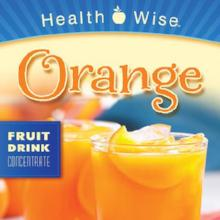 Orange Flavored LIQUID Concentrated Drink Mix with Sucralose less than $10/box 15 gm Protein/packet 051 (DHSW) Made by Healthwise