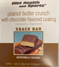 Peanut Butter CRUNCH Bar 791 WHOLESALE CASE 35% Off (24 boxes/case 7 servings/box normally $13.25/box) (DHS)