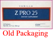 Vanilla Z PRO 25  Pudding/Shake R-Kane Brand $25.71/box $1.84/packet Save 36% (Price for Case 18 boxes of 14 packets/box) Low Cost Discount