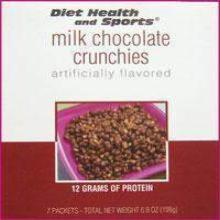 Milk Chocolate Crunchies - 761  Robard 30% Off (24 boxes/case 7 servings/box) (DSH)