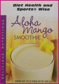 Aloha Mango Smoothie Mix  with Sucralose - (DHSW)  - 001 PURCHASE by MIX and MATCH WHOLESALE For Big Savings