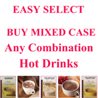 HOT DRINKS $10/bx HEALTHWISE Low Cost Wholesale Discount EASY SELECT 36 Boxes of any HOT DRINKS