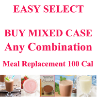 EASY SELECT MIX AND MATCH Less than $10/box. Meal Replacement Shakes 100 Cal. Made by Healthwise