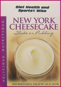 New York Cheesecake Pudding/Shake Mix with Sucralose- (DHSW) 105 PURCHASE by MIX and MATCH WHOLESALE For Big Savings