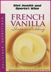 VANILLA (or French Vanilla) Pudding/Shake Mix with Sucralose- (DHSW) 107 PURCHASE by MIX and MATCH WHOLESALE For Big Savings