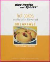 Hot Cakes High Protein Mix WHOLESALE CASE 35% Off (24 boxes/case 7 servings/box normally $13.25/box) (DHS)  Diet Health and Sports Brand - 723