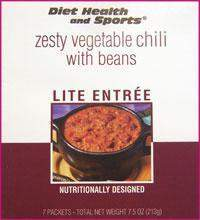 Zesty Vegetable CHILI with Beans Mix 753 WHOLESALE CASE 35% off (24 boxes/case 7 pkts/box) (DHS)