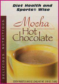 "Mocha ""Classic"" Hot Chocolate Drink Mix with Sucralose- (DHSW) 118 PURCHASE by MIX and MATCH WHOLESALE For Big Savings"