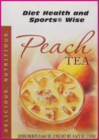 Peach Decaffeinated Tea Drink Mix with Sucralose- (DHSW) 163 PURCHASE by MIX and MATCH WHOLESALE For Big Savings