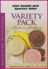 Variety Pudding/Shake Mixes - (DHSW) 100 PURCHASE by MIX and MATCH WHOLESALE For Big Savings