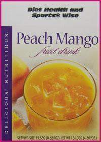Peach Mango Drink Mix - (DHSW) 149 PURCHASE by MIX and MATCH WHOLESALE For Big Savings