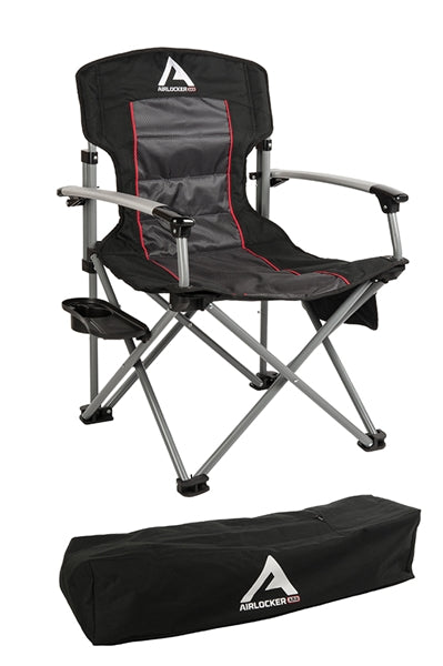 ARB Locker Camping Chair Black