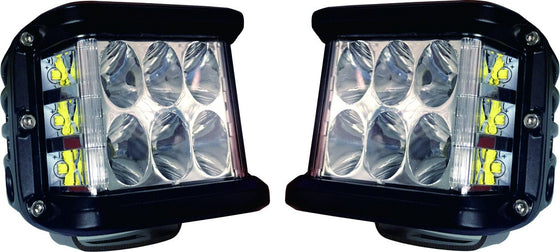 Side Projecting LED Pods *SOLD AS PAIR* - Cali Raised LED