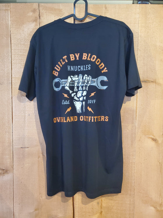 Overland Outfitters Built By Bloody Knuckles Tee