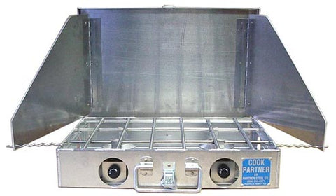 "Partner Steel 18"" Double Burner Stove"