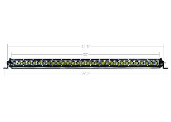 "32"" Slim Single Row Bar - Cali Raised LED"