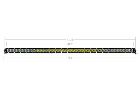 "Copy of 42"" Slim Single Row LED Bar (AMBER) - Cali Raised LED"