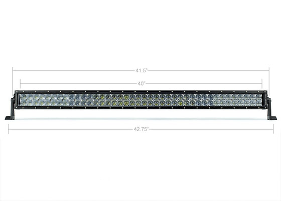 "42"" Dual Row 5D Optic OSRAM LED Bar - Cali Raised LED"
