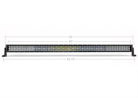 "52"" Dual Row 5D Optic OSRAM Led Bar - Cali Raised LED"