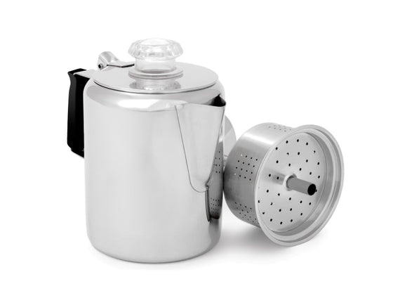 GSI Glacier Stainless Steel 3 Cup Percolator