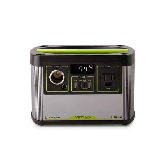 GOAL ZERO YETI 200X PORTABLE POWER STATION