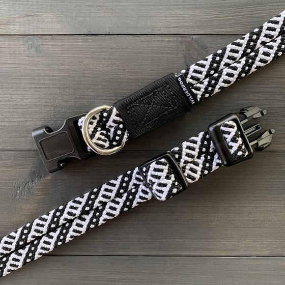 Wilderdog - Black & White Collar - Overland Outfitters