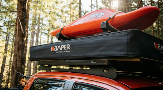 ikamper x-cover roof top tent - overland outfitters