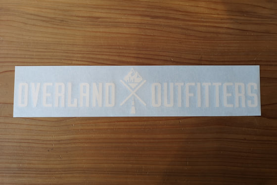 Overland Outfitters Vinyl Windshield Decal - Vancouver, BC