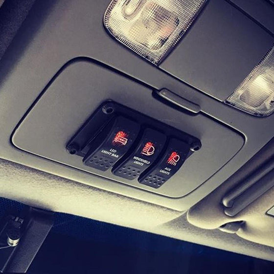 Universal Switch Panel - Cali Raised LED