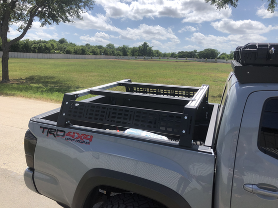Cali Raised 2005-2020 Toyota Tacoma Overland Bed Rack
