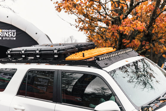 PrInsu 2010 - 2021 Toyota 4Runner Full Length RoofRac NO-DRILL