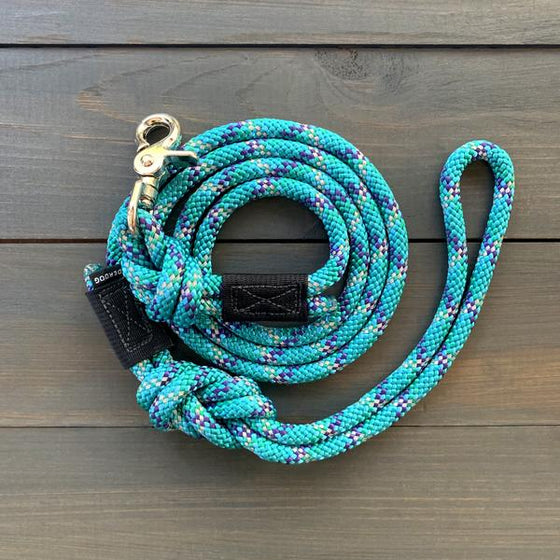 Wilderdog Quick Clip Reflective Rope Leash - 5ft