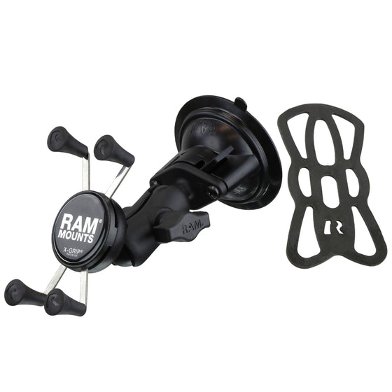 RAM® X-Grip® Phone Mount with Twist-Lock™ Suction Cup