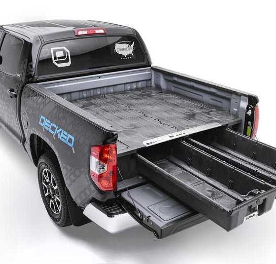 Decked Toyota Tundra Bed Organizer - Overland Outfitters