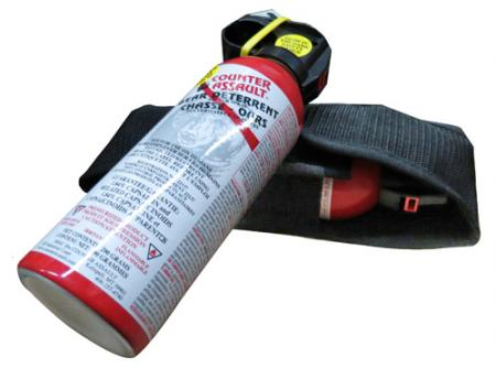 Counter Assault Bear Spray 230g Canister with Holster