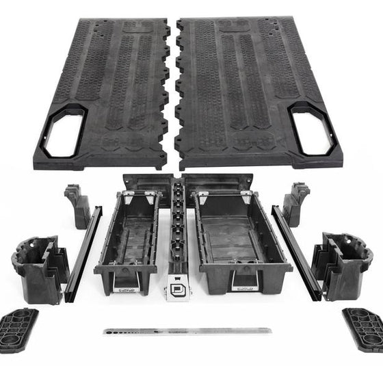 Decked Nissan Frontier Bed Organizer - Overland Outfitters