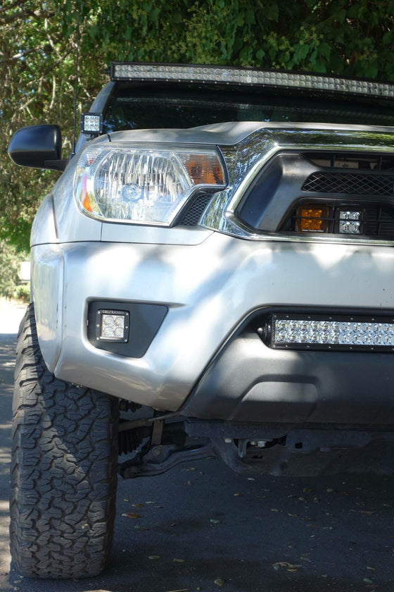 2012-2015 Toyota Tacoma Fog Light LED Pod Replacements - Cali Raised LED