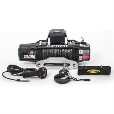 Smittybilt X2O-10K Waterproof 10000lb Synthetic Gen2 Wireless Winch