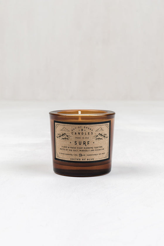 United By Blue Surf Out-Of-Doors Candle - Vancouver, BC