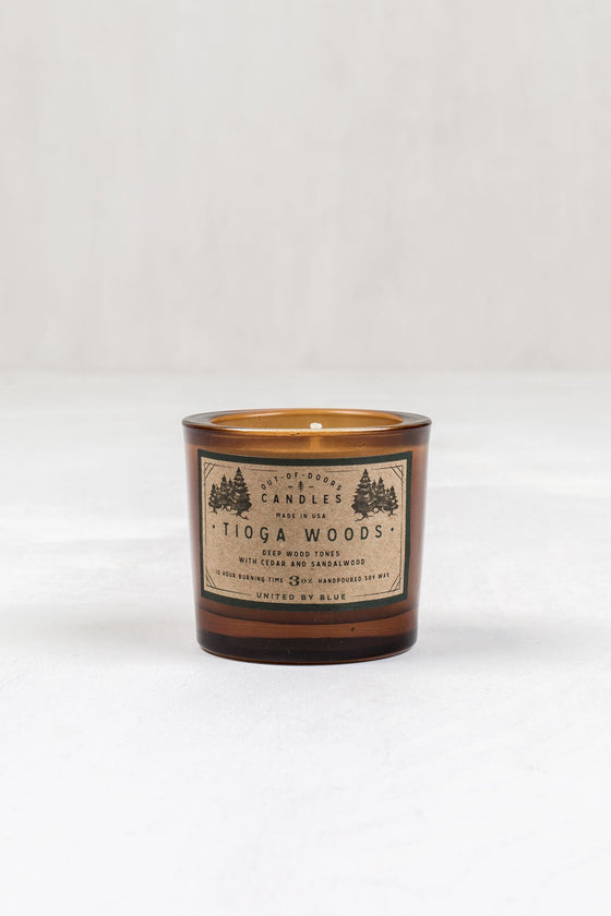United By Blue Tioga Woods Out-Of-Doors Candle - Vancouver