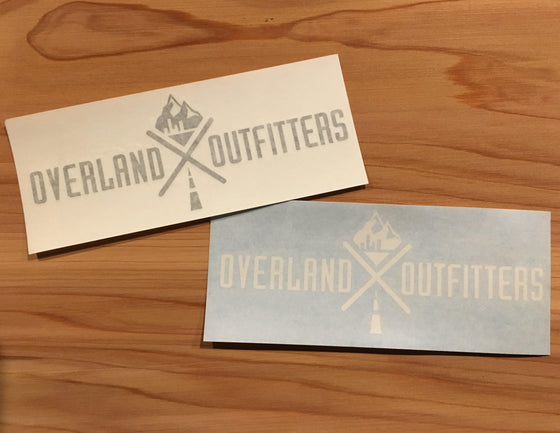 Overland Outfitters Vinyl Decal