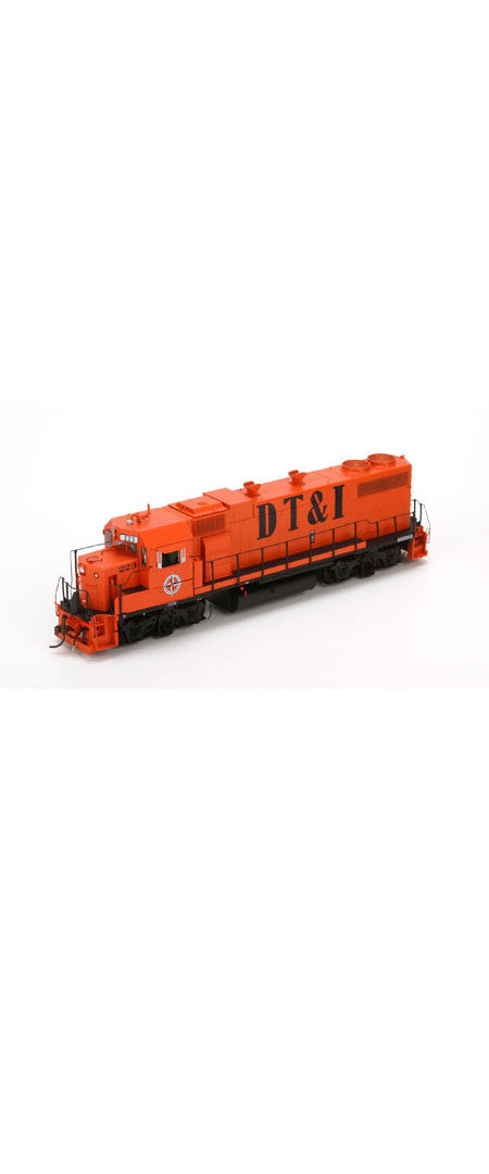 HO GP38-2 Phase 1a w/DCC & Sound DT&I by ATHEARN