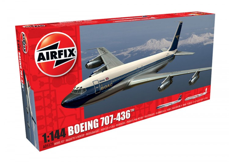 1/144 B707-436 AIRLINER