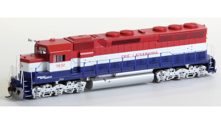 HO SD45 DCC-ready / Sound-ready - Erie Lackawanna #3632 by ATHEARN